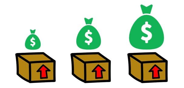 cajas dinero