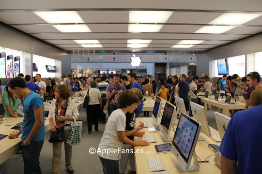 apple-store-zaragoza-kids