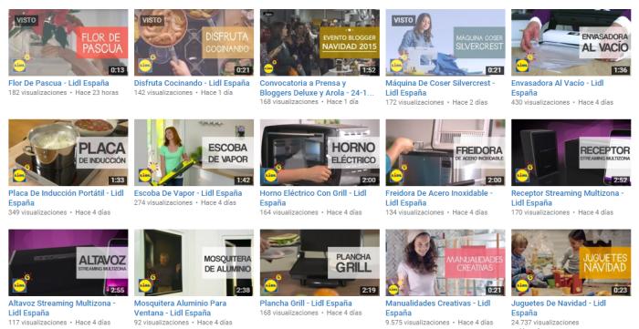 lidl videos